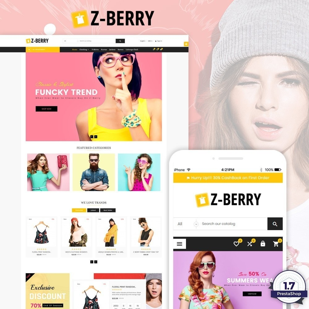theme - Mode & Schoenen - Z-Berry – Fashion and Cloth Super Store - 1