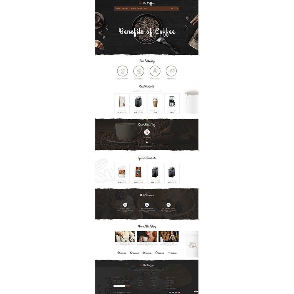 theme - Drink & Tobacco - MrCoffee Store - 2