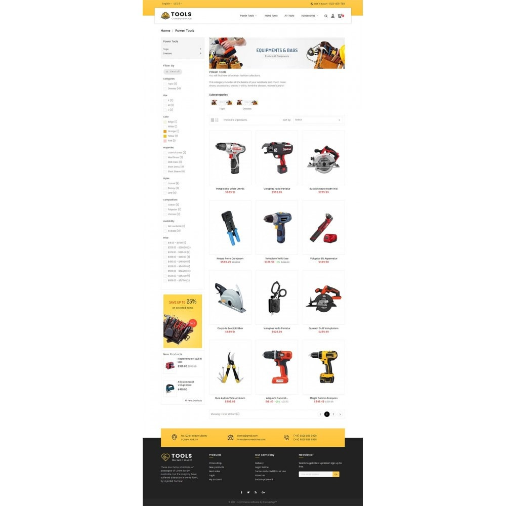 theme - Maison & Jardin - Construction Tools Store - 4