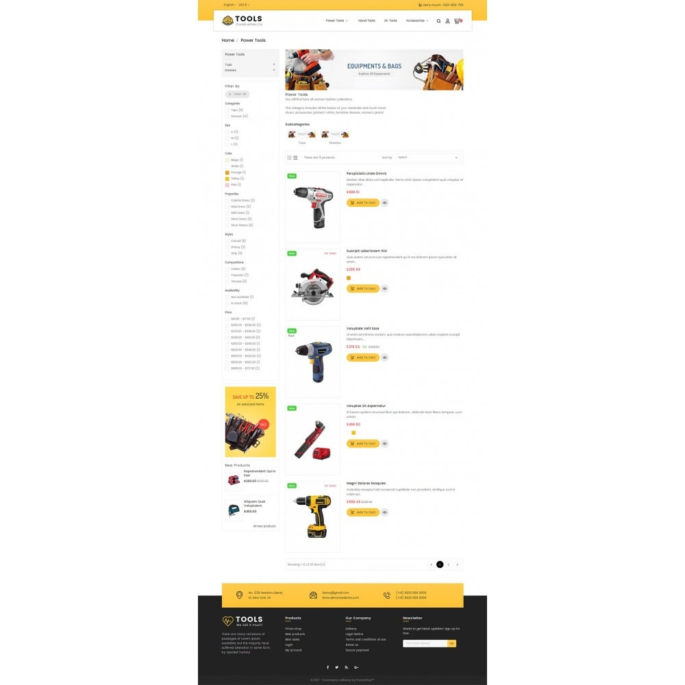 theme - Heim & Garten - Construction Tools Store - 5