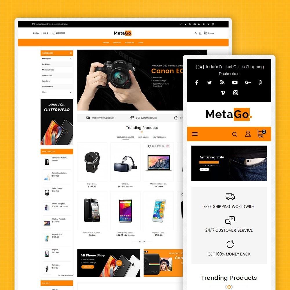 theme - Electrónica e High Tech - Melano Electronics Market - 2
