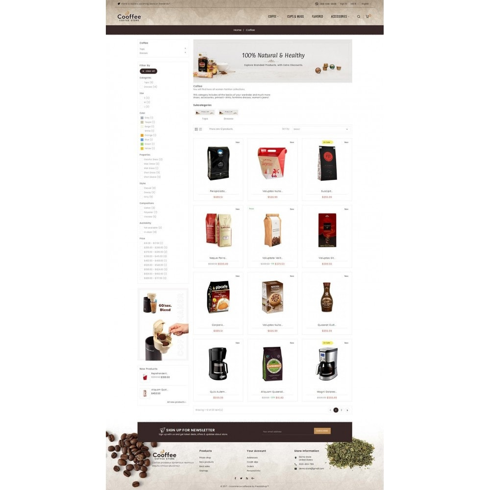 theme - Boissons & Tabac - Cold Coffee Store - 4
