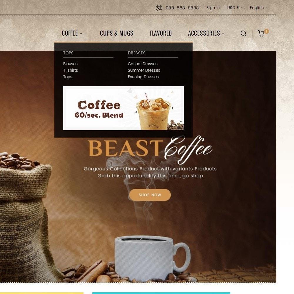 theme - Bebidas y Tabaco - Cold Coffee Store - 10
