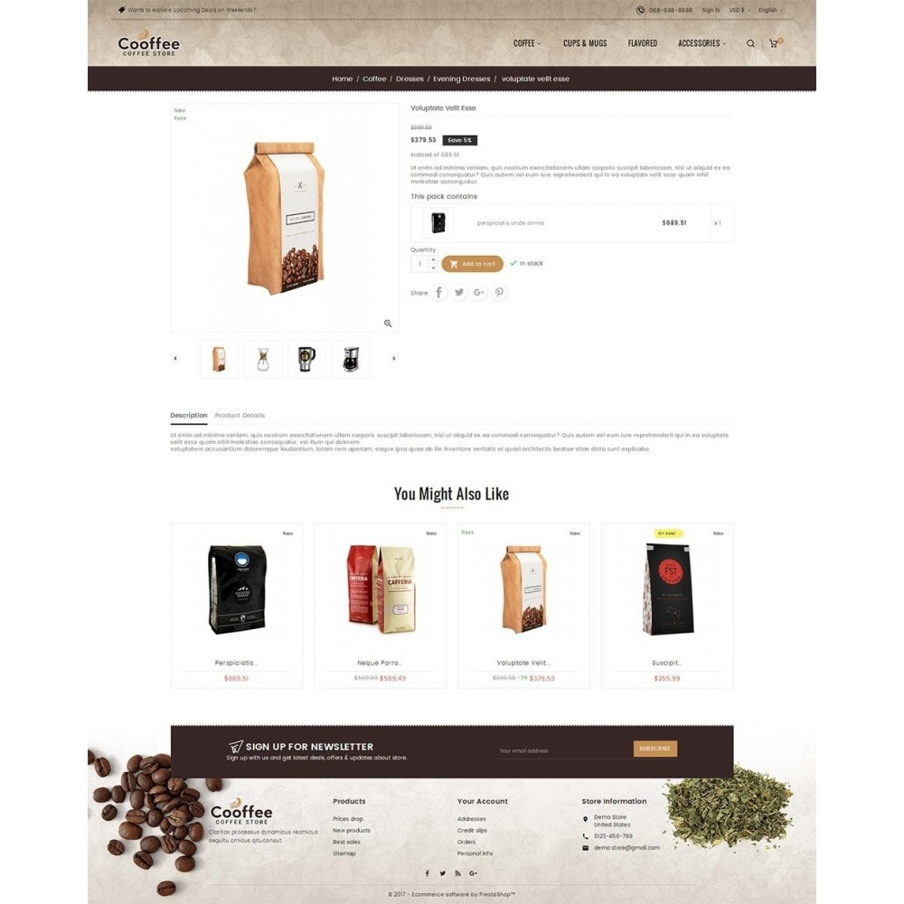 theme - Getränke & Tabak - Cold Coffee Store - 6