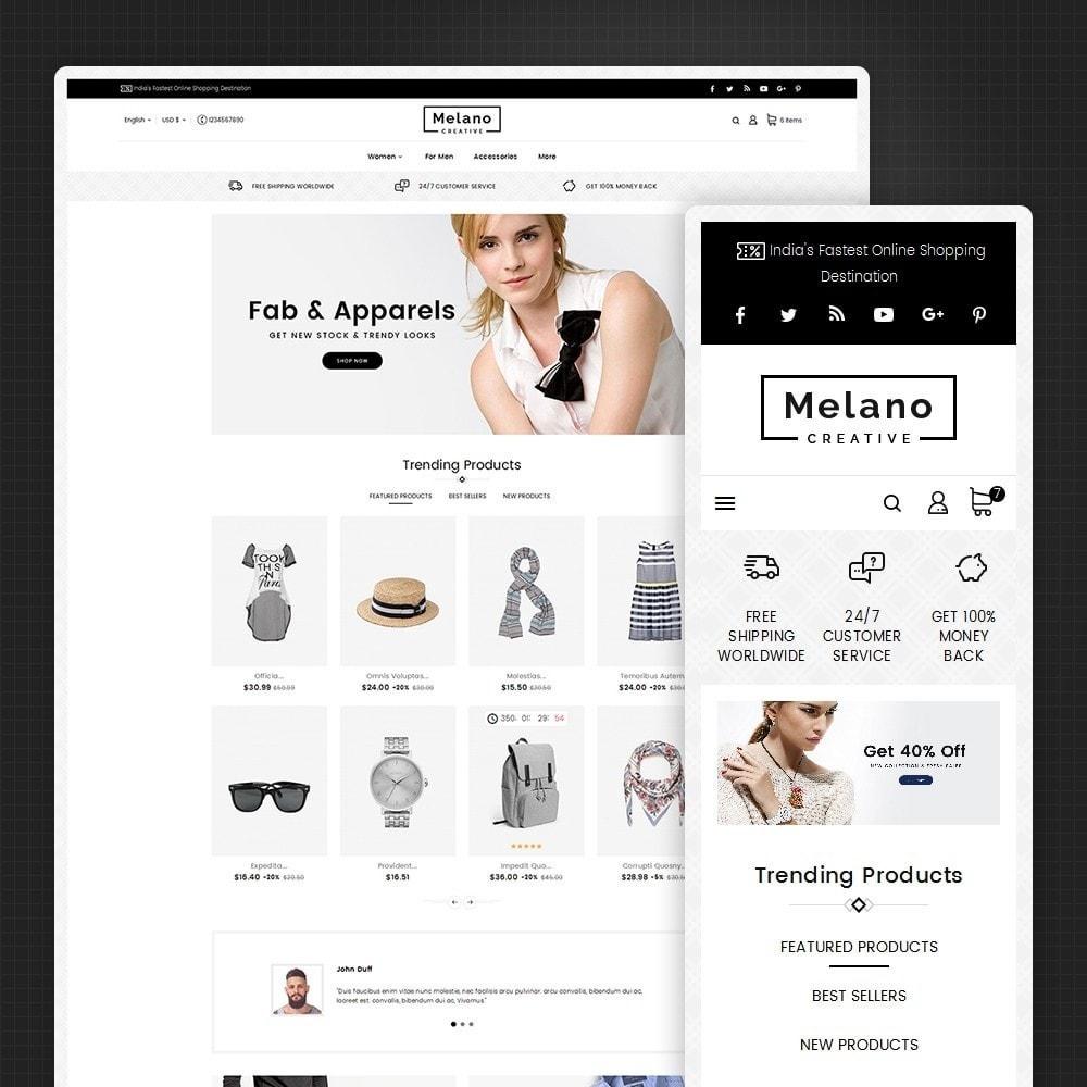 theme - Mode & Chaussures - Melano Creative Fashion - 2