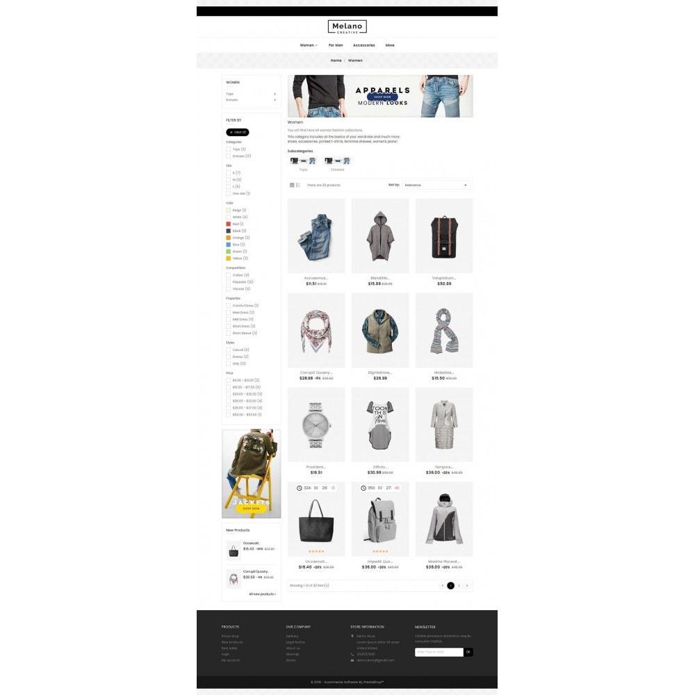 theme - Mode & Chaussures - Melano Creative Fashion - 4