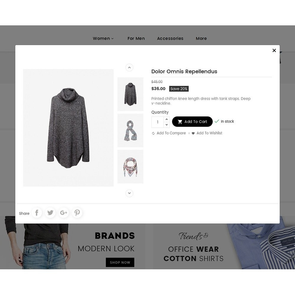 theme - Mode & Chaussures - Melano Creative Fashion - 8