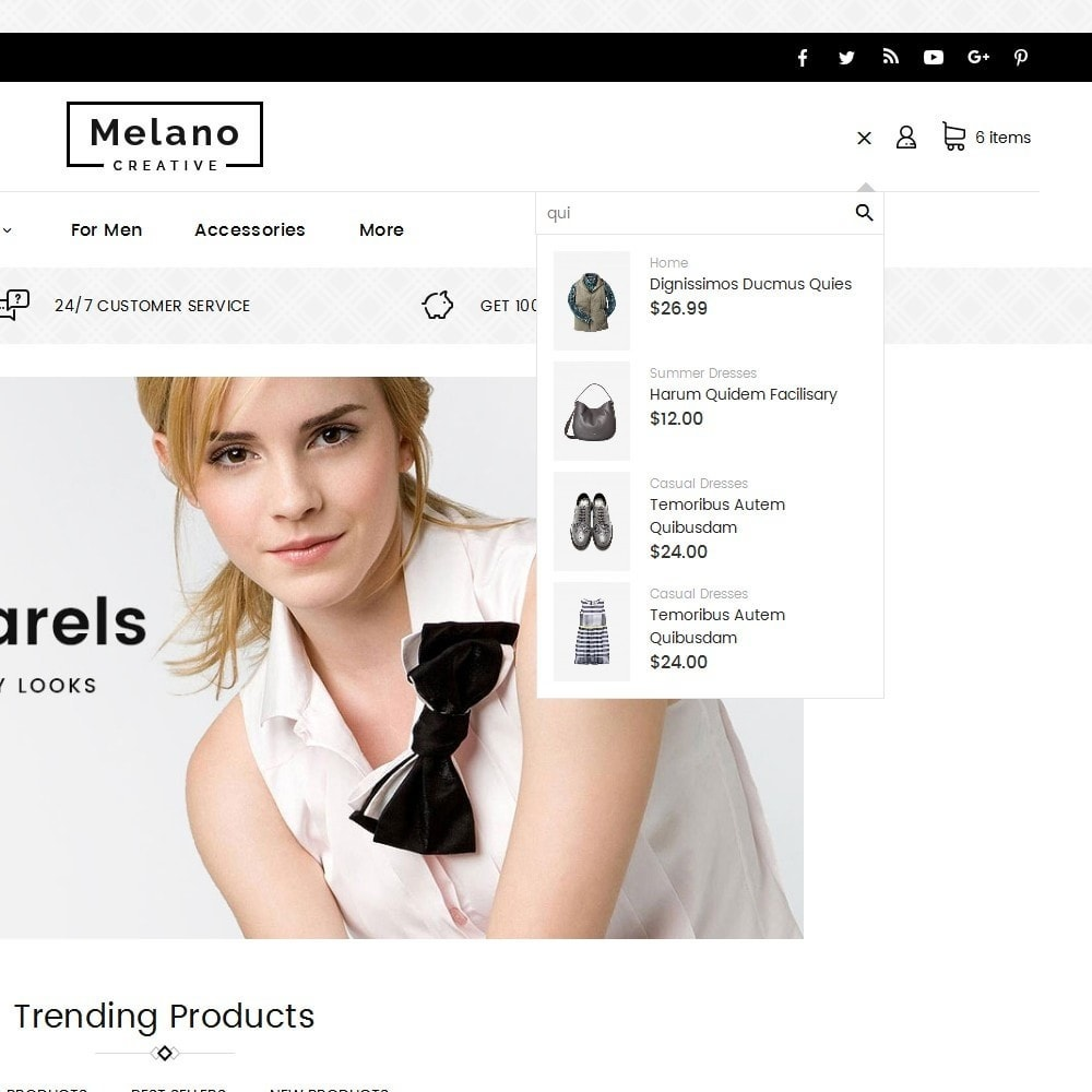 theme - Mode & Chaussures - Melano Creative Fashion - 10