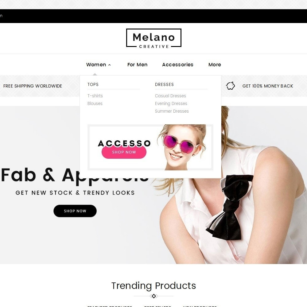 theme - Moda & Calzature - Melano Creative Fashion - 9