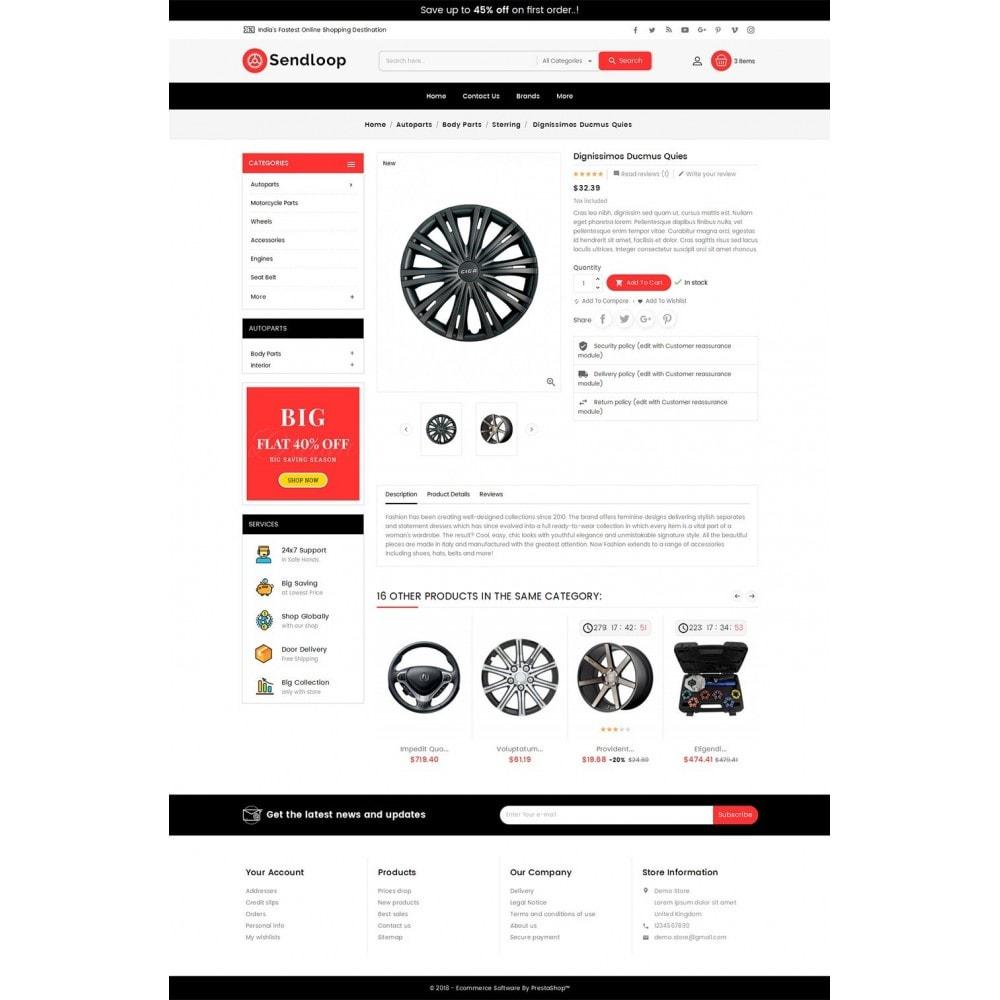 theme - Coches y Motos - Melano Auto Parts Loop - 6