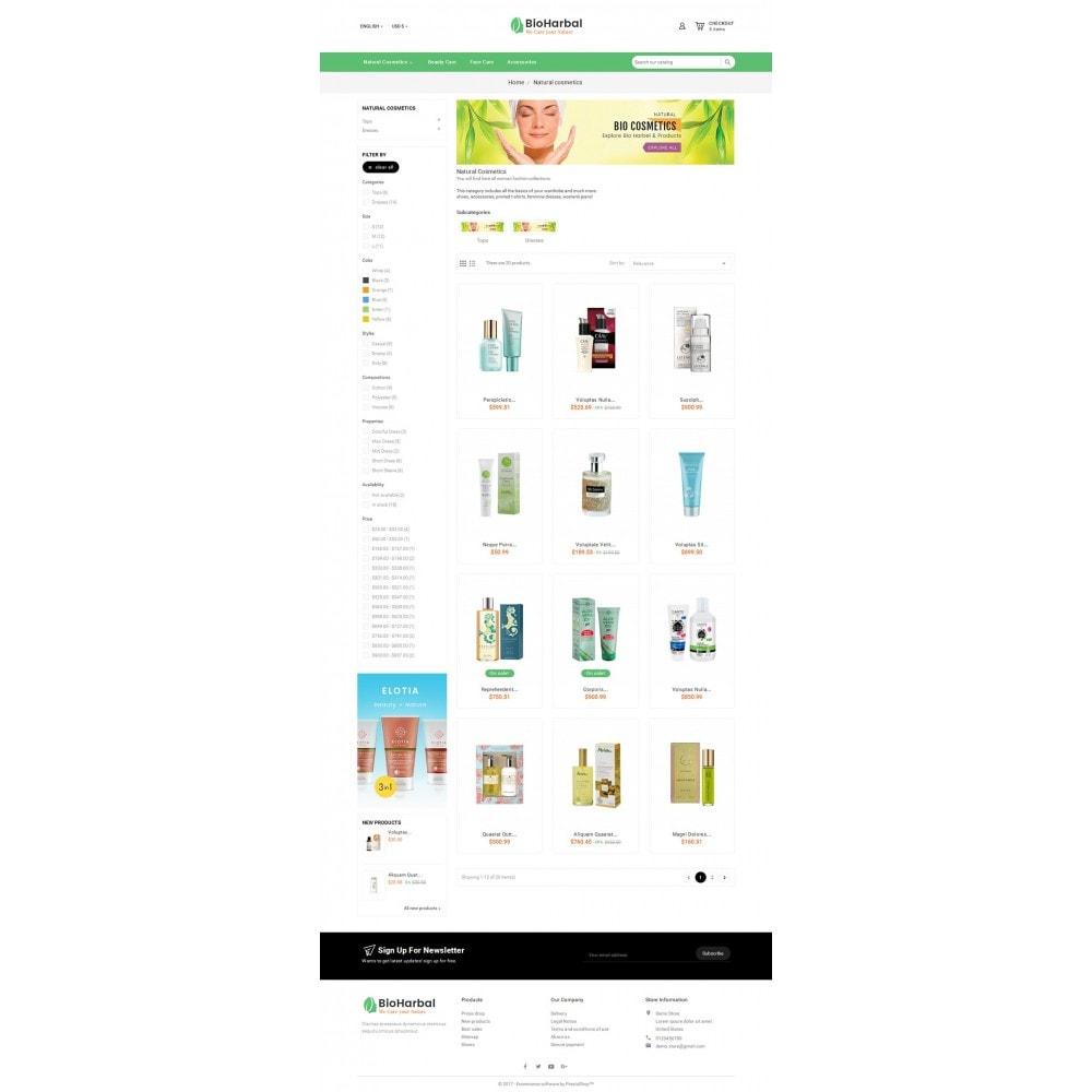 theme - Salute & Bellezza - Bio Cosmetics Store - 4