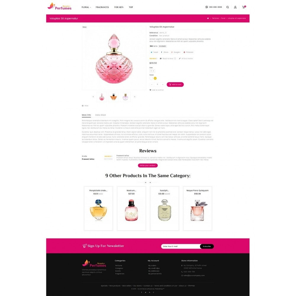 theme - Salud y Belleza - Beauty Perfume Store - 5