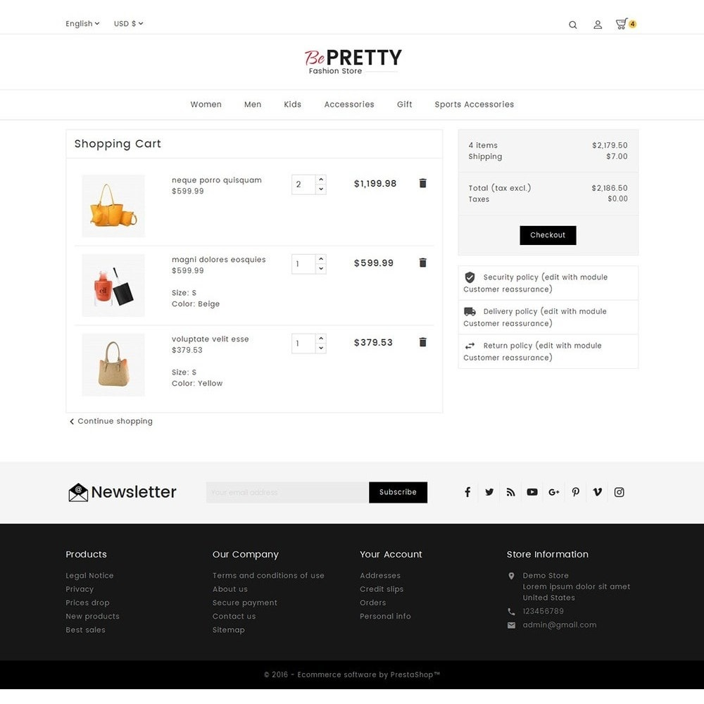 theme - Moda y Calzado - BePretty Fashion Store - 7