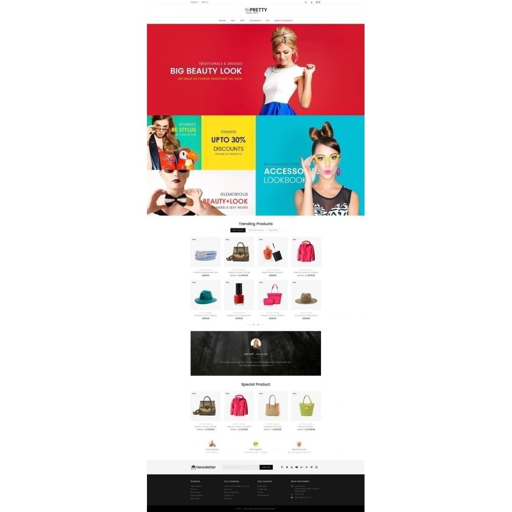 theme - Moda & Calzature - BePretty Fashion Store - 3