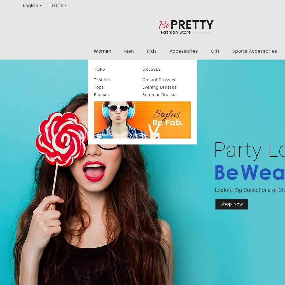theme - Moda & Calzature - BePretty Fashion Store - 12