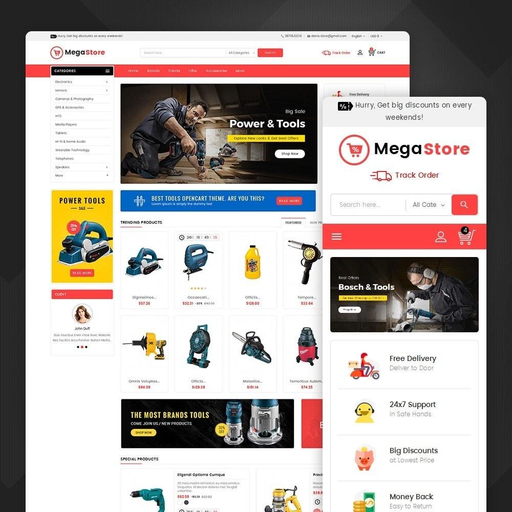 theme - Electronique & High Tech - Mega Power Tools Store - 2