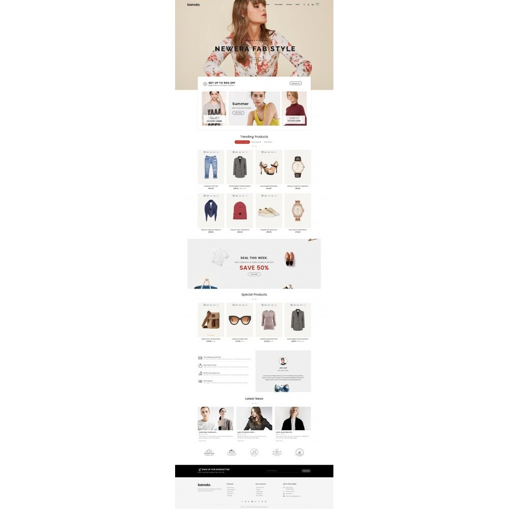 theme - Moda & Calçados - Baroda Fabrics - 2