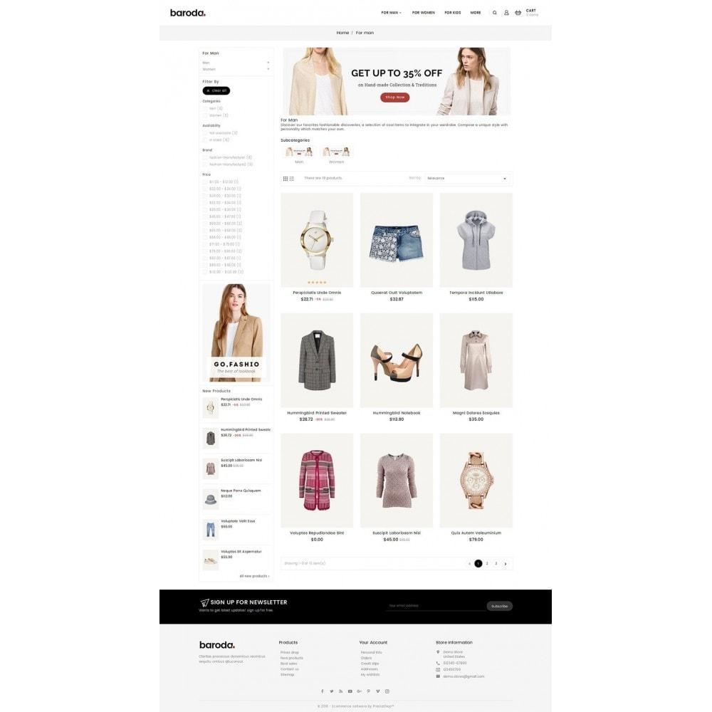 theme - Moda & Calçados - Baroda Fabrics - 3