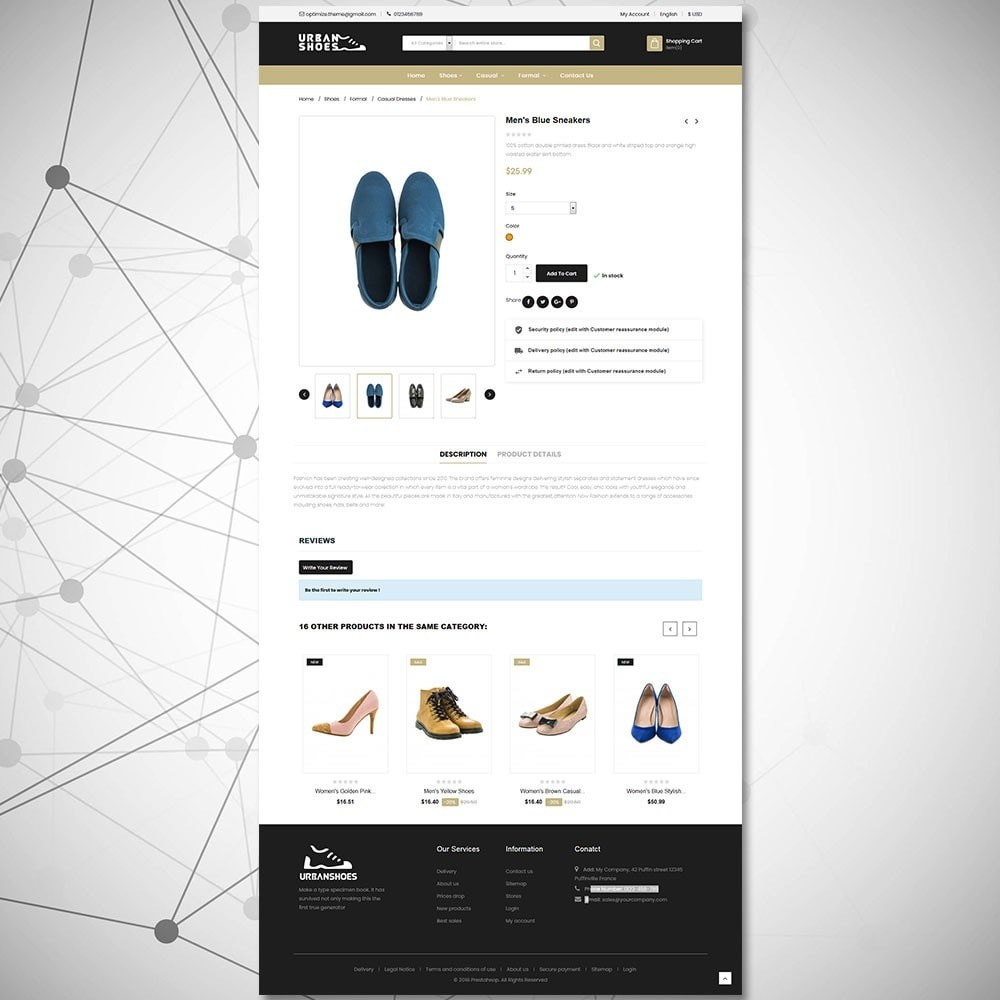 theme - Мода и обувь - Магазин Urban Shoes - 5