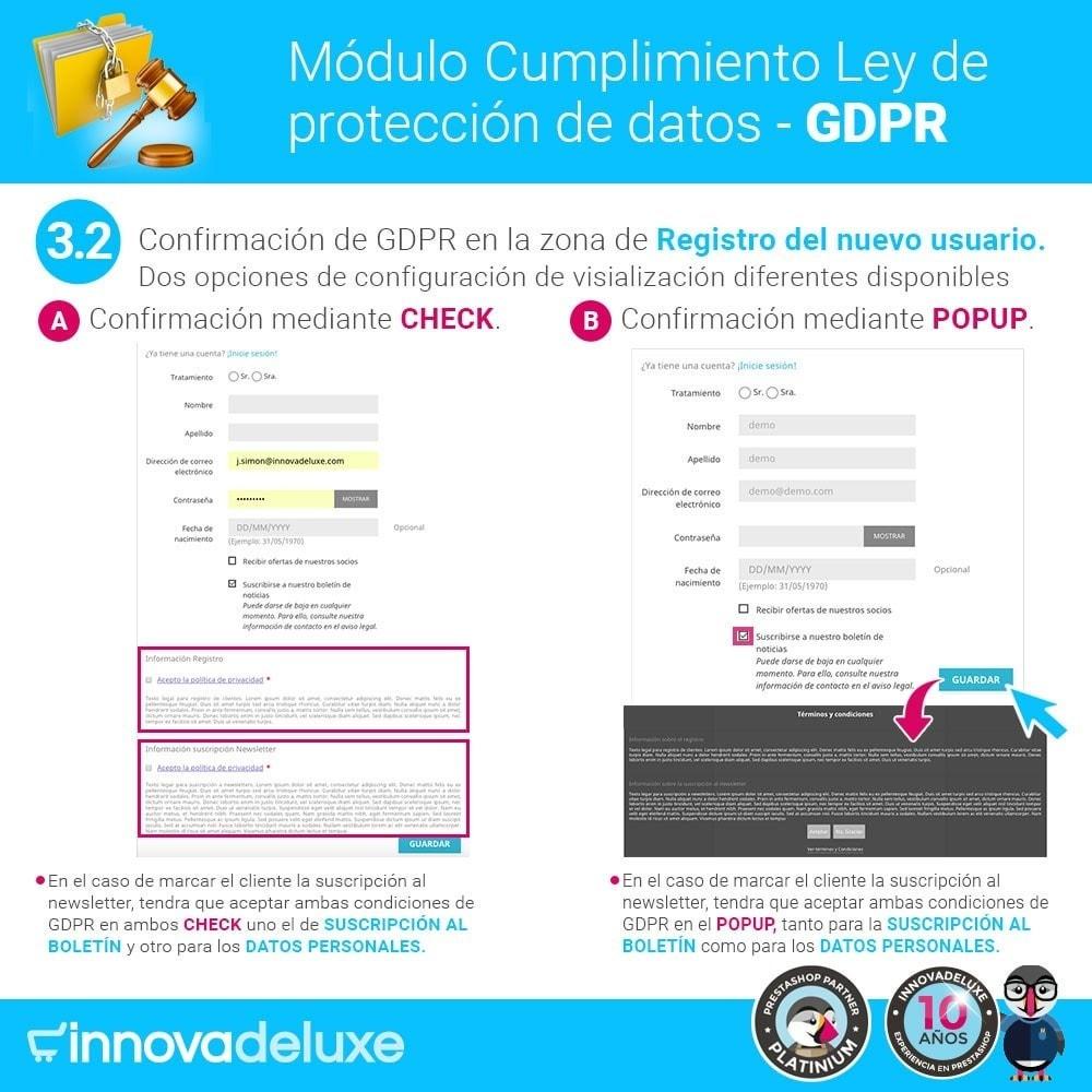 bundle - Marco Legal (Ley Europea) - Cumplimiento normativas legales RGPD, Cookies - 5