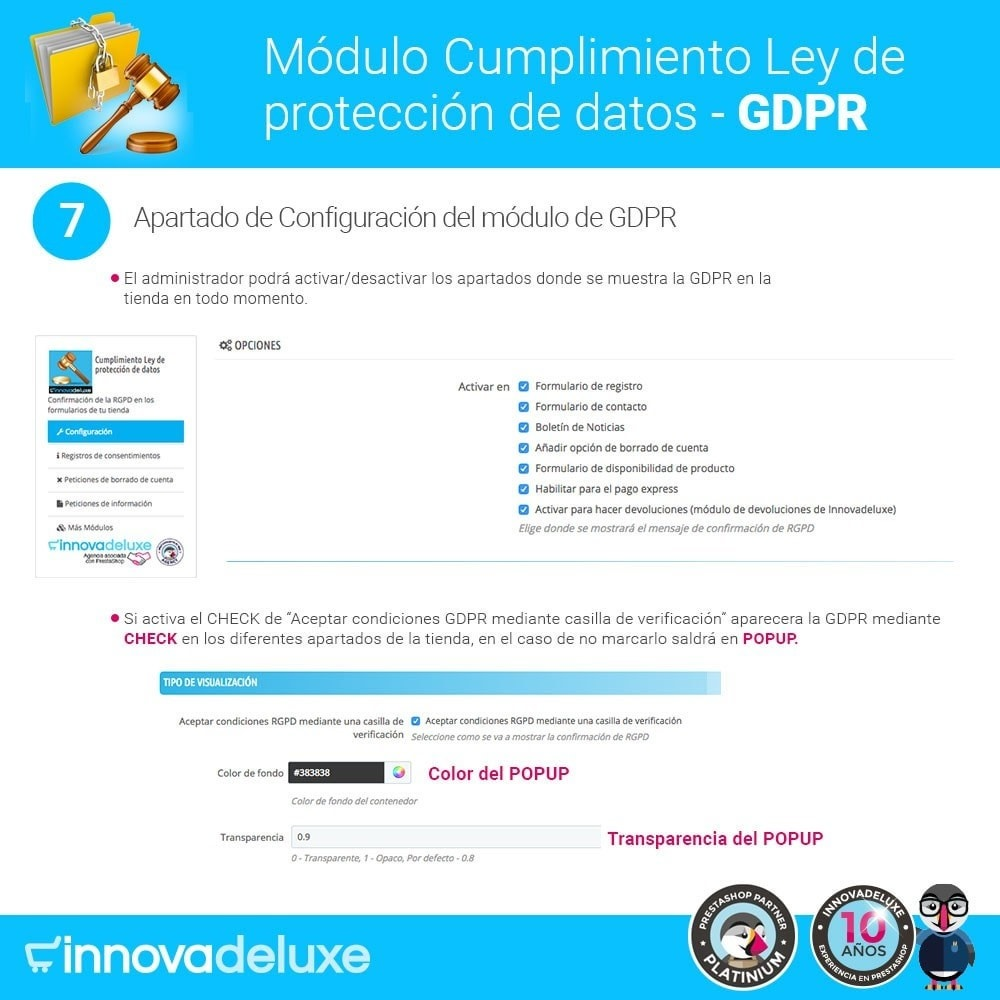 bundle - Marco Legal (Ley Europea) - Cumplimiento normativas legales RGPD, Cookies - 12