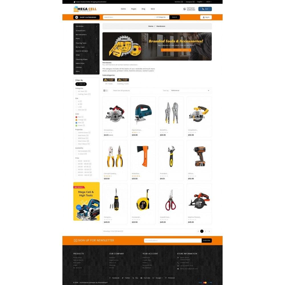 theme - Maison & Jardin - Mega Cell Tools Equipment - 4