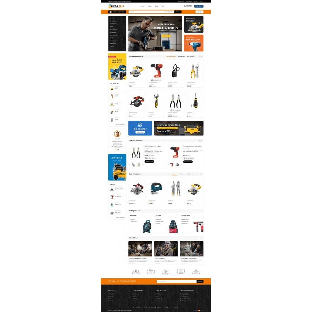 theme - Casa & Giardino - Mega Cell Tools Equipment - 3