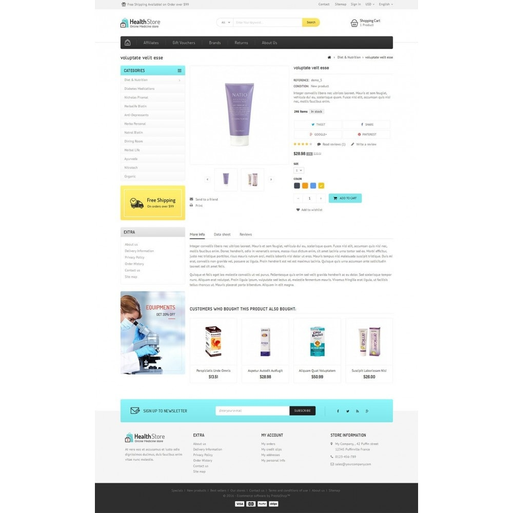 theme - Gesundheit & Schönheit - Medicine Store - 5