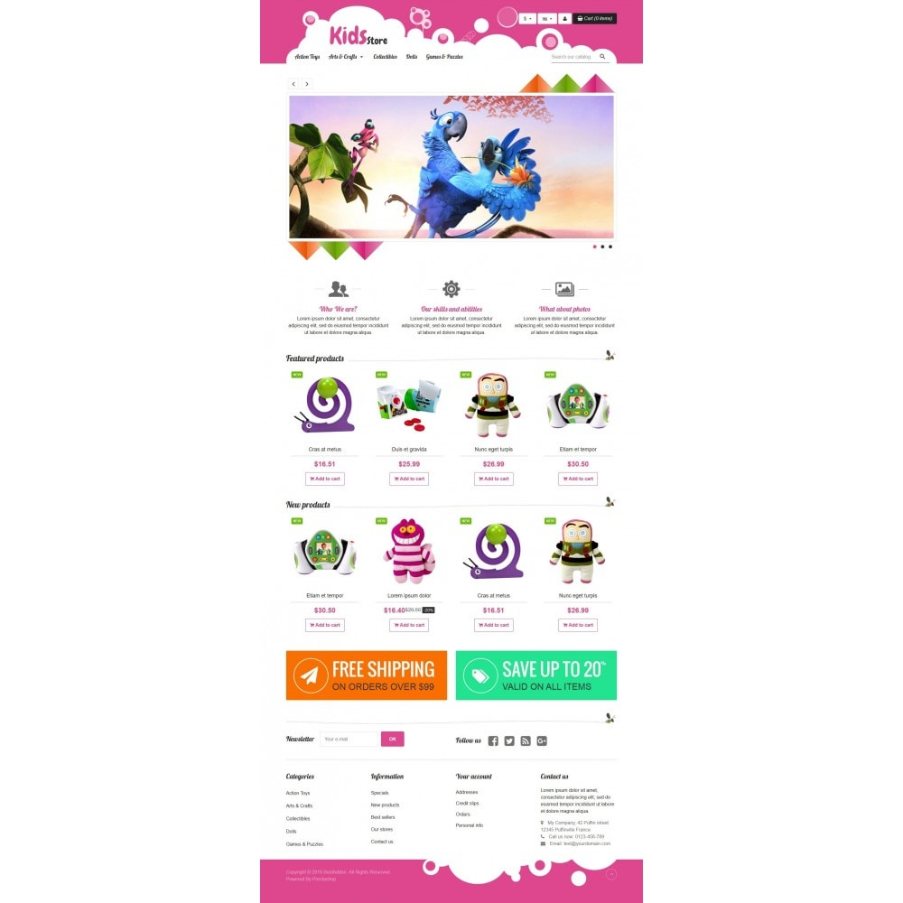 theme - Zabawki & Artykuły dziecięce - VP_Kids Store - 2