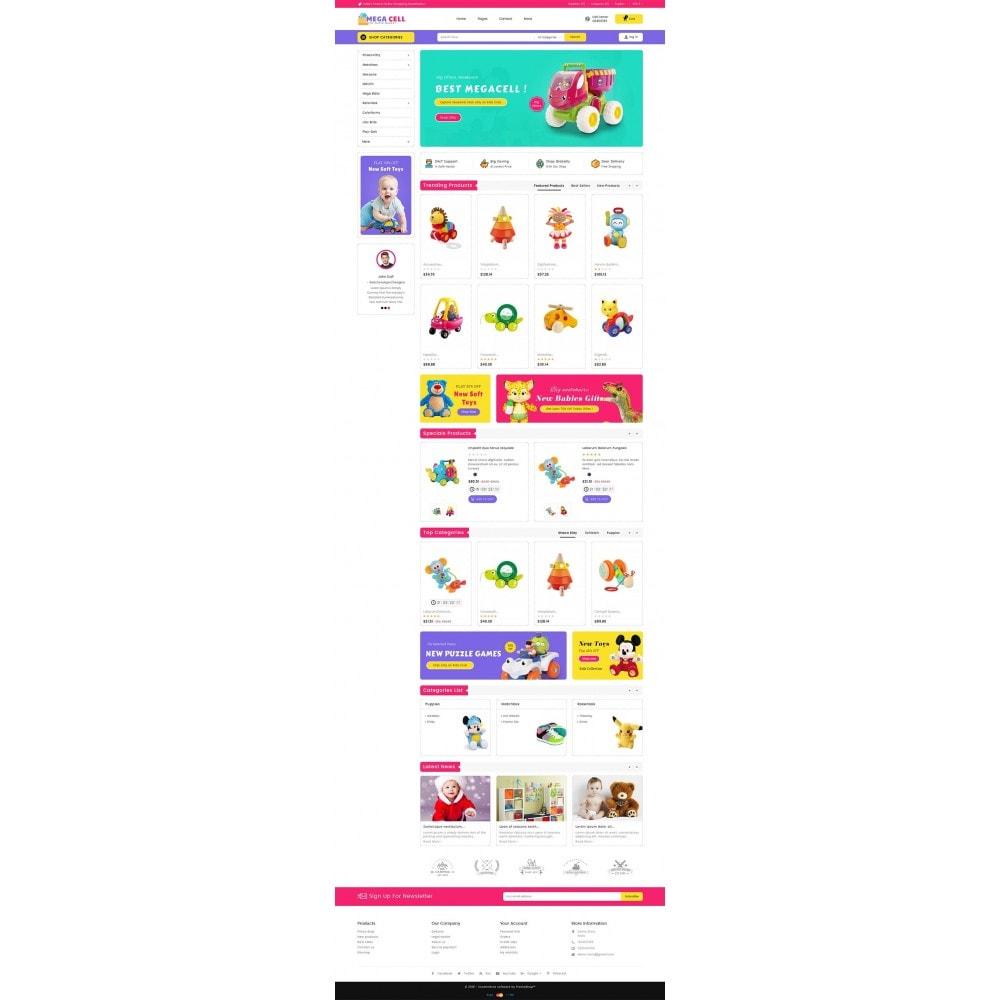 theme - Niños y Juguetes - Mega Cell Kid Toys - 3