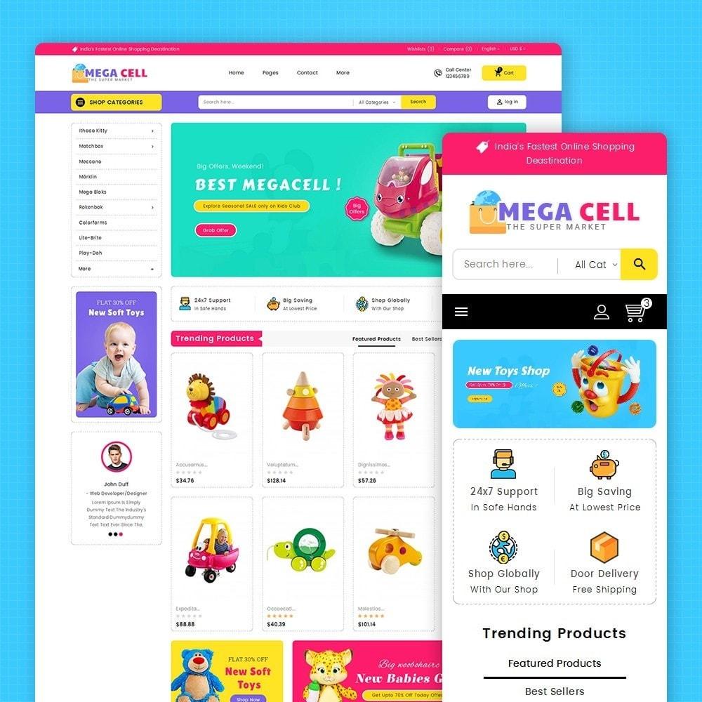 theme - Kinder & Spielzeug - Mega Cell Kid Toys - 2