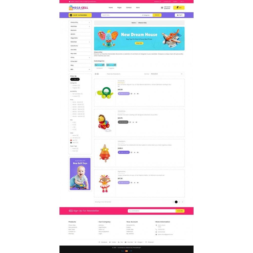 theme - Kinder & Spielzeug - Mega Cell Kid Toys - 5