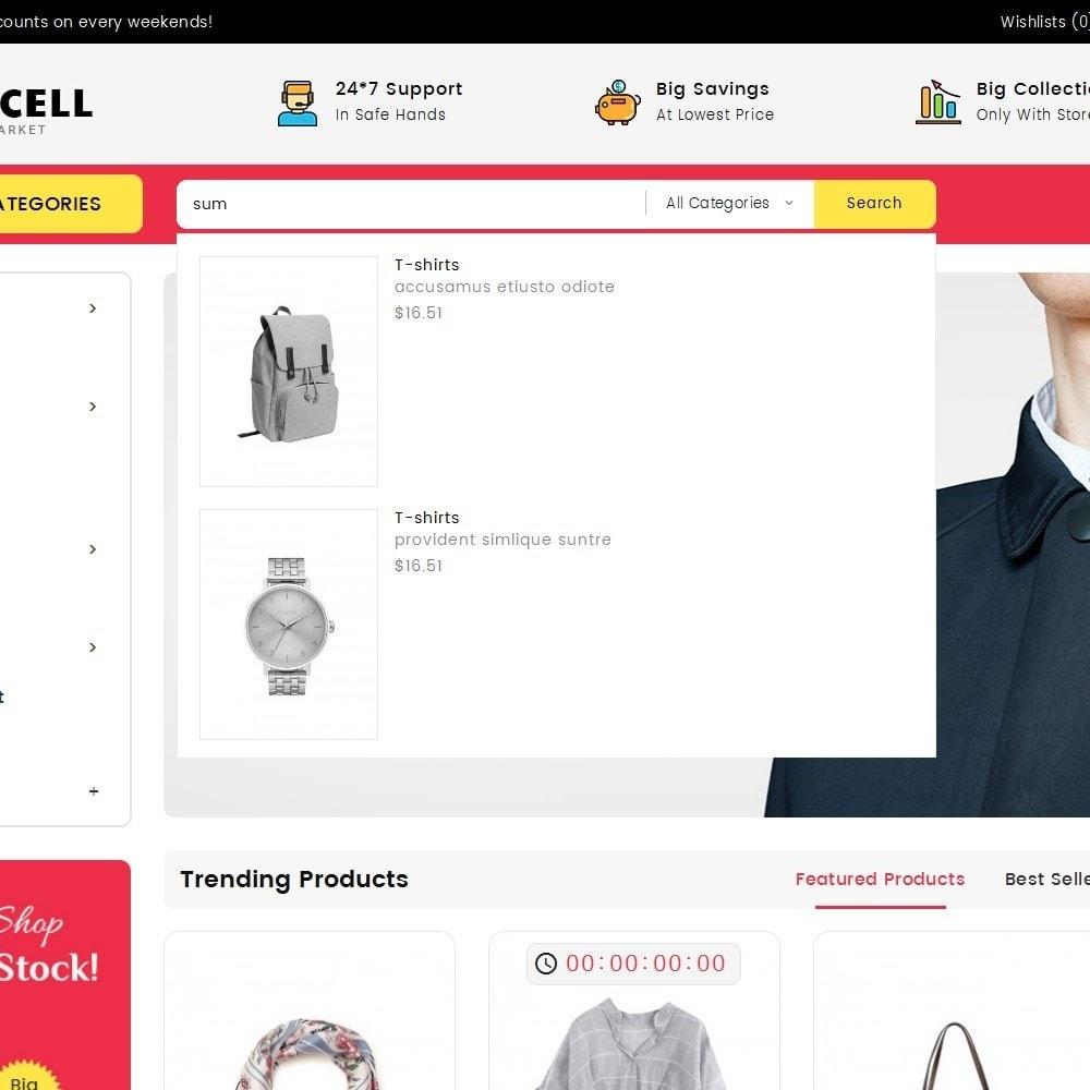 theme - Electronique & High Tech - Mega Cell Electronics Market - 10