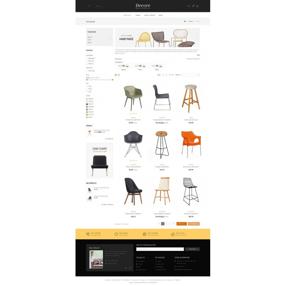 theme - Maison & Jardin - Furniture Shop - 4