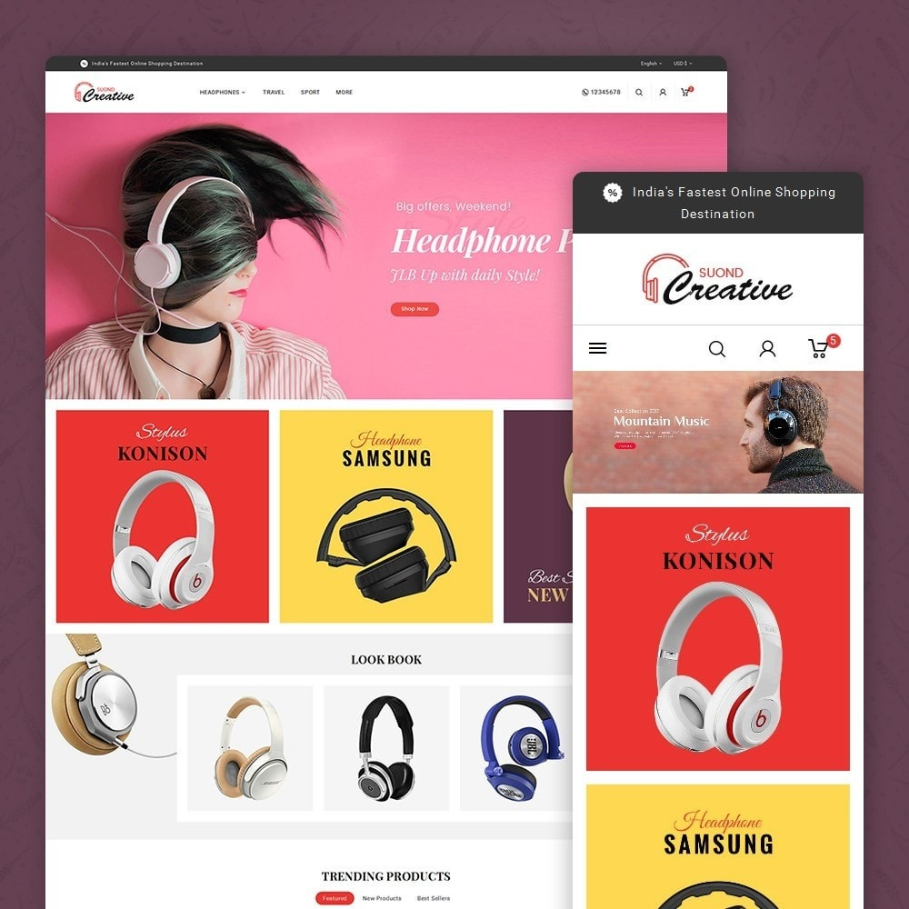 theme - Elektronik & High Tech - Headphone & Speakers - 2