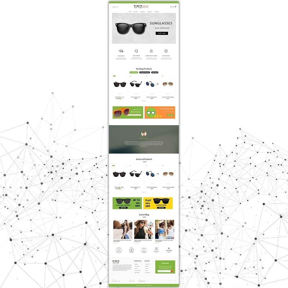 theme - Mode & Schoenen - Comfort zonnebril winkel - 3