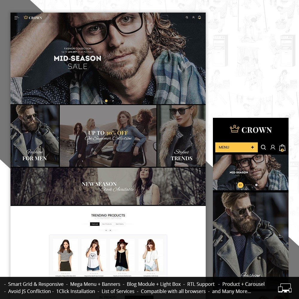 theme - Moda y Calzado - Fashion Store - 2
