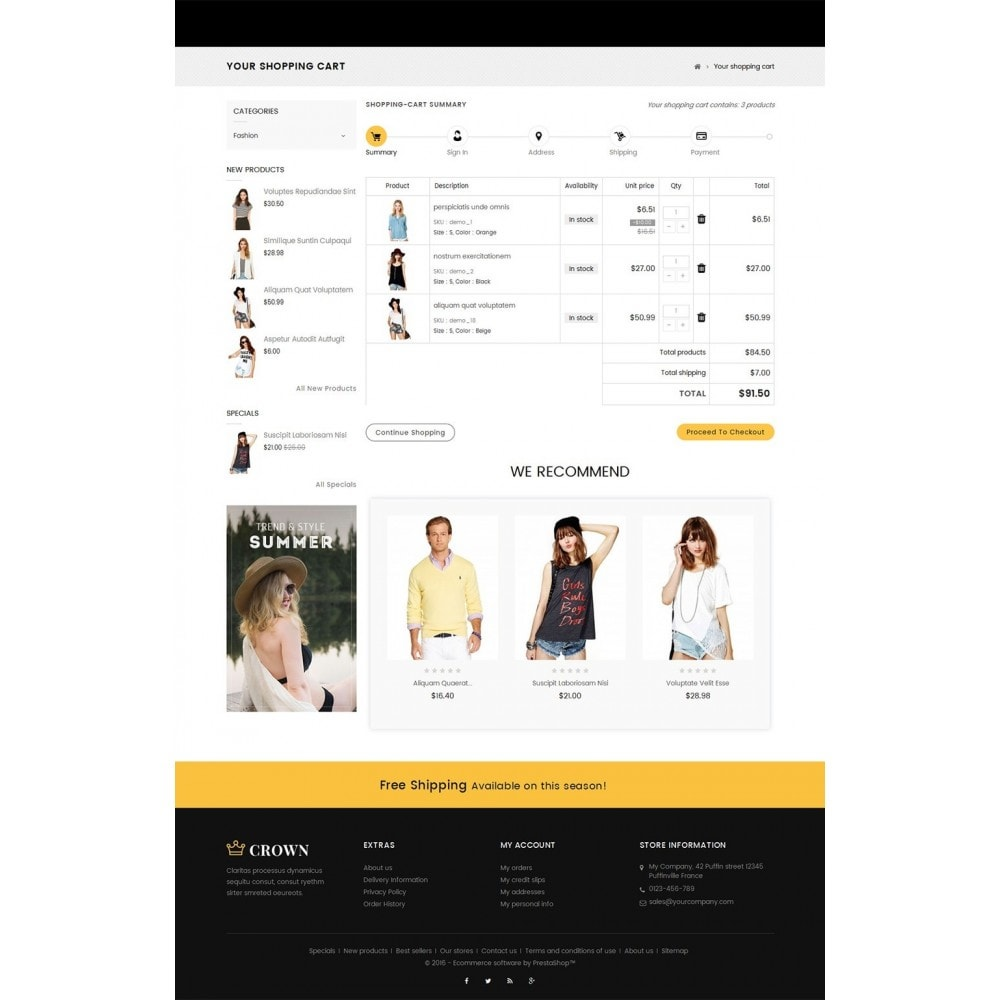 theme - Moda & Calzature - Fashion Store - 7