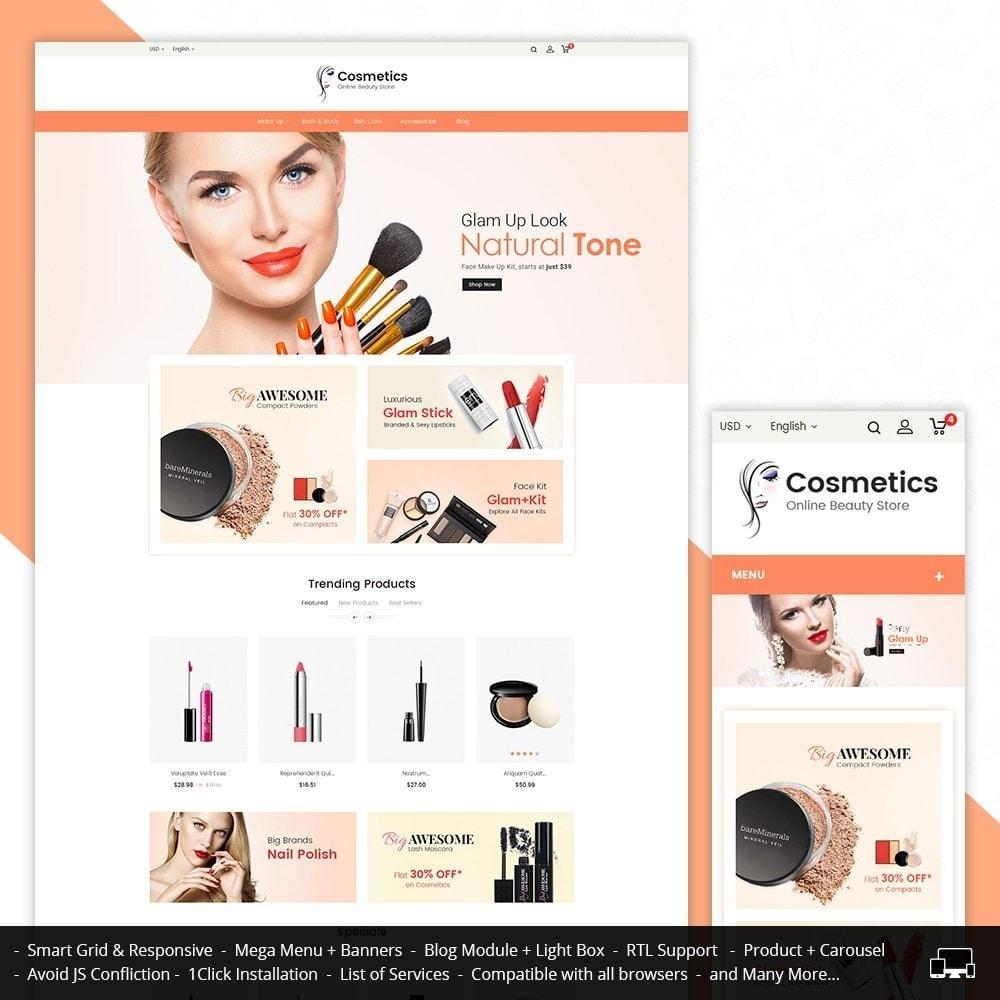 theme - Salute & Bellezza - Cosmetic Store - 2