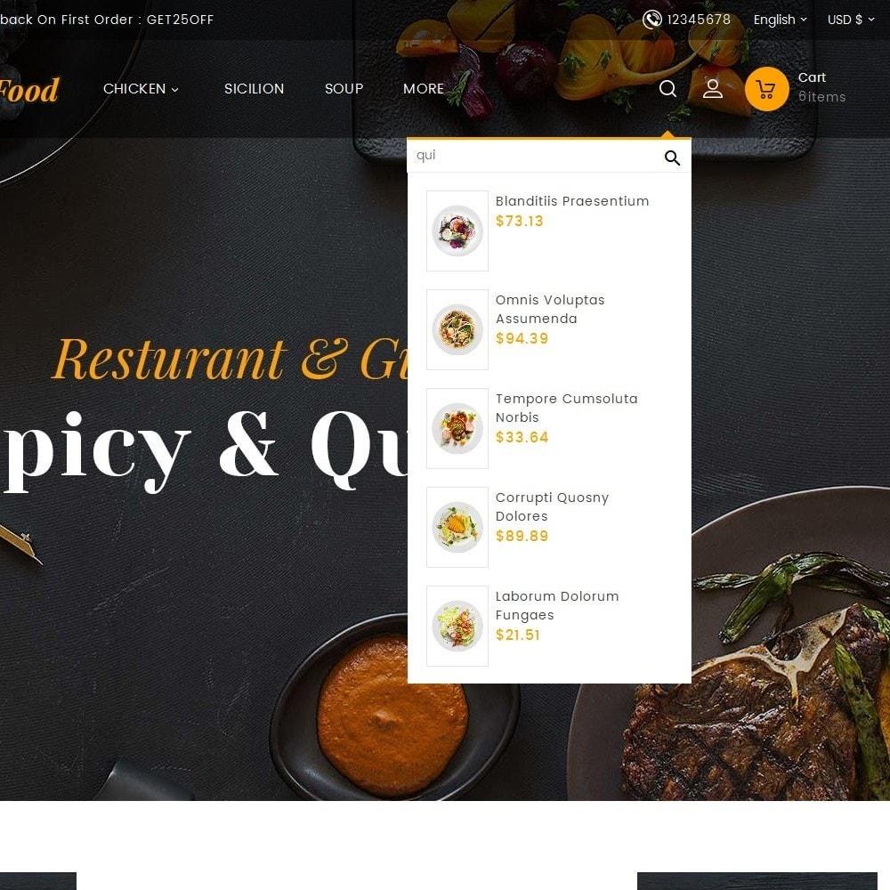 theme - Cibo & Ristorazione - Gusto Restaurant Food - 19