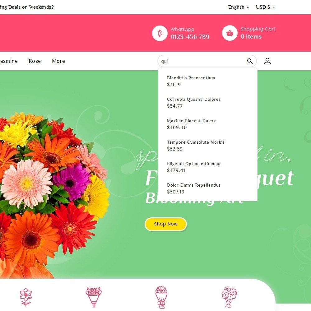 theme - Maison & Jardin - Floral Pan Bloom Works - 10