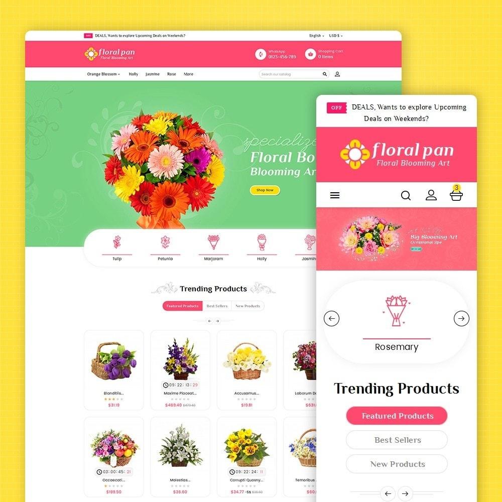 theme - Heim & Garten - Floral Pan Bloom Works - 2