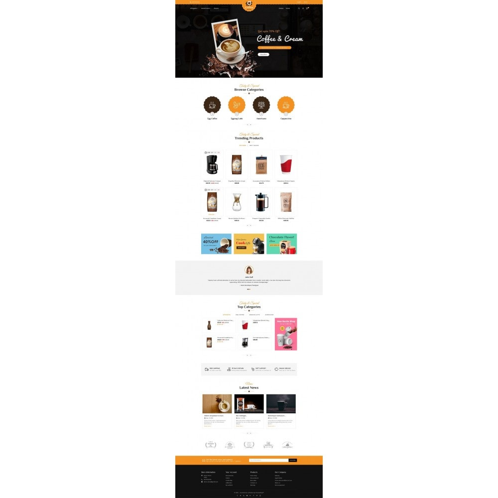 theme - Lebensmittel & Restaurants - Coffee House - 3