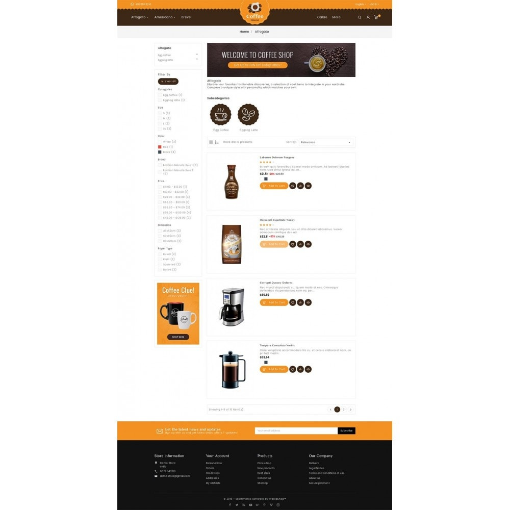 theme - Lebensmittel & Restaurants - Coffee House - 5