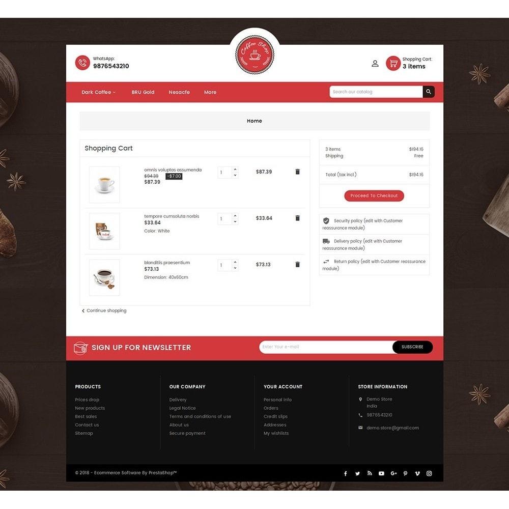 theme - Lebensmittel & Restaurants - Coffee Cafe Shop - 7