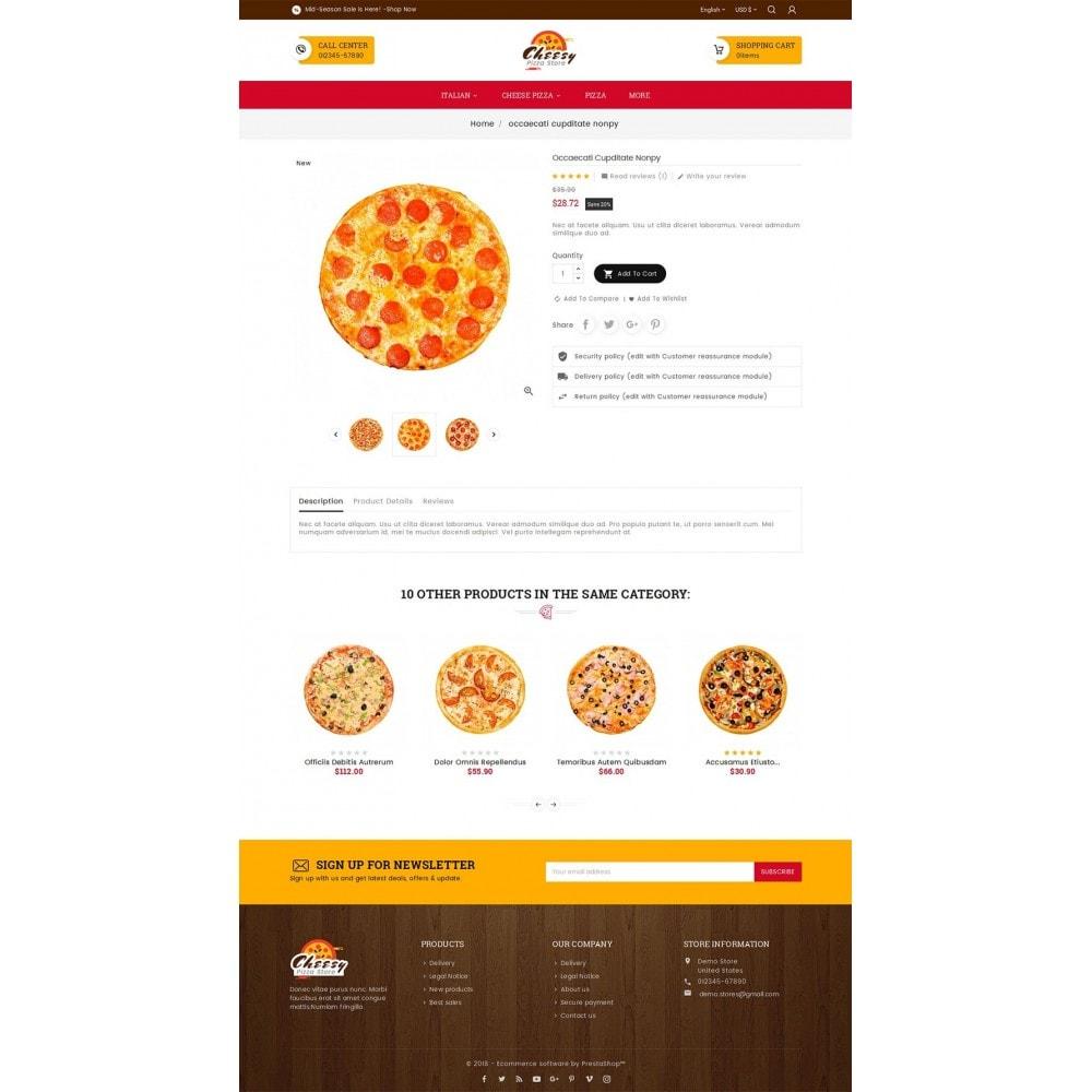 theme - Alimentation & Restauration - Cheesy Pizza - Fast Food - 6