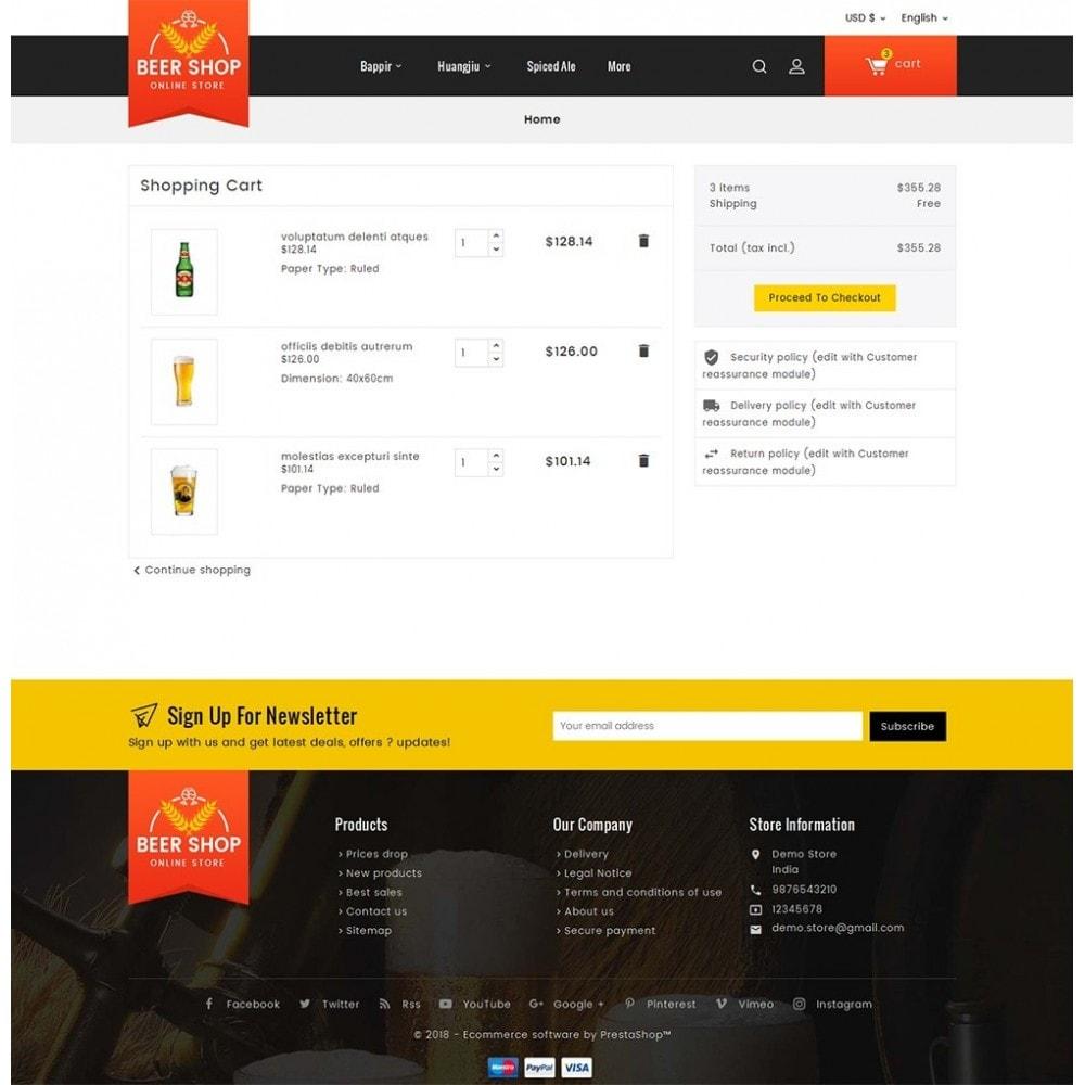 theme - Bebidas y Tabaco - Beer & Winery - 7