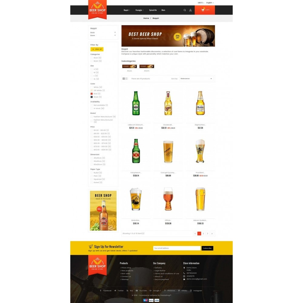 theme - Getränke & Tabak - Beer & Winery - 4