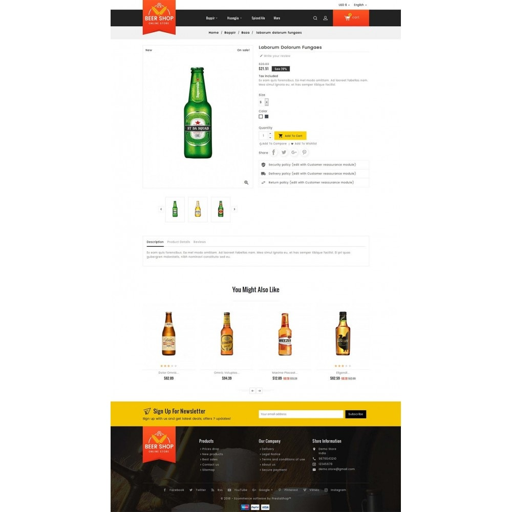 theme - Getränke & Tabak - Beer & Winery - 6