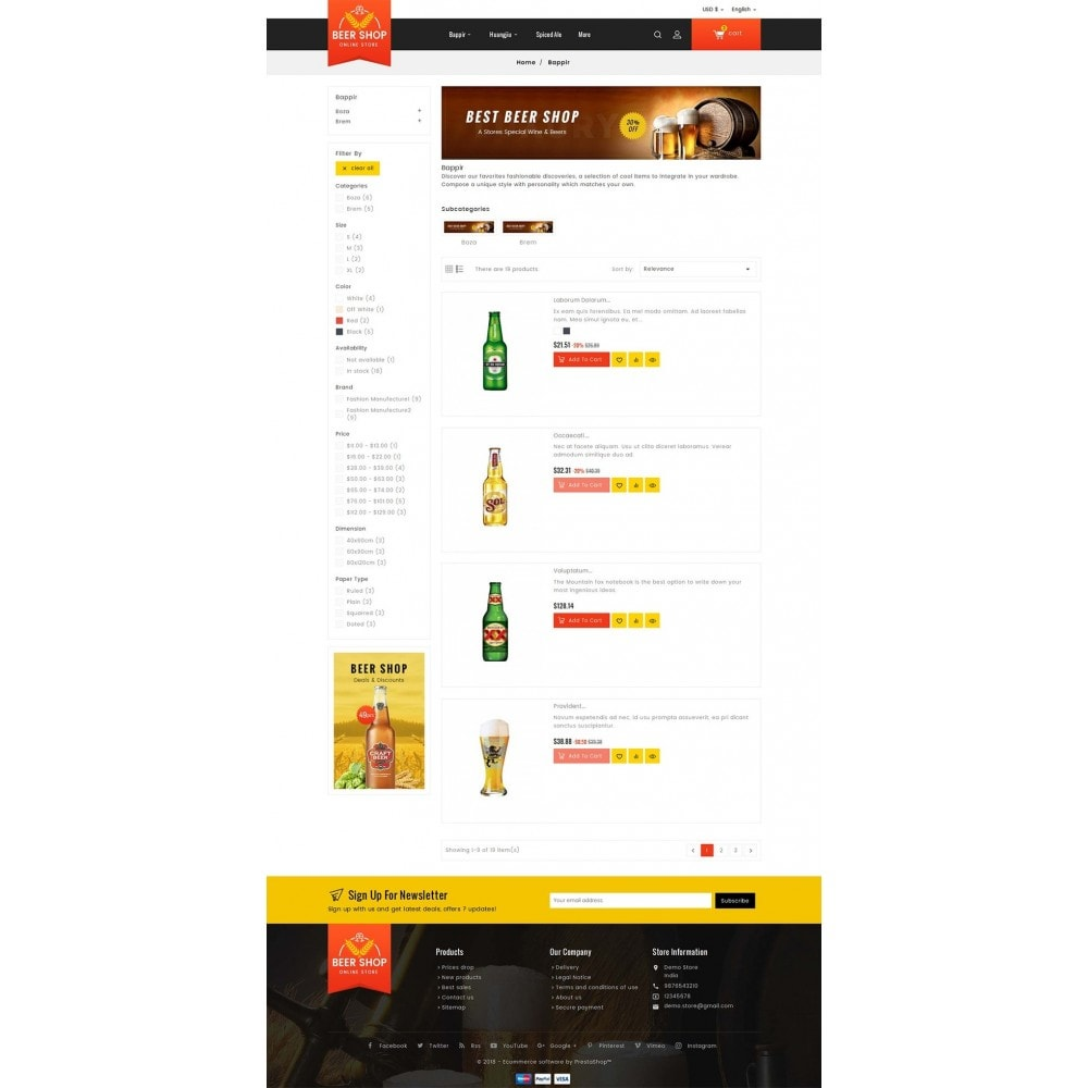 theme - Drink & Wine - Beer & Winery - 5